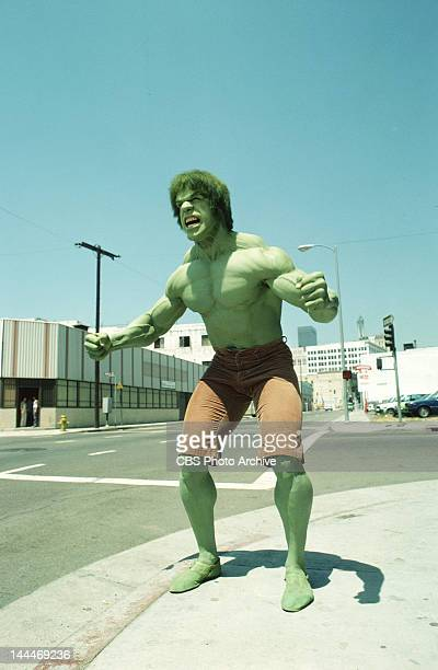 HULK cast member Lou Ferrigno as the 'Hulk' Episode 62 Fast Lane Original Airdate January 16 1981