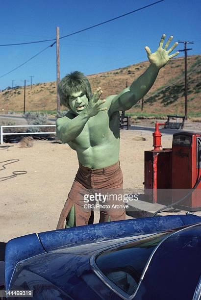 HULK cast member Lou Ferrigno as the 'Hulk' Episode 62 Fast Lane Original Airdate January 16 1981