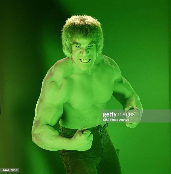 HULK cast member Lou Ferrigno as the 'Hulk' The television program originally aired on CBS from March 1978 to June 1982