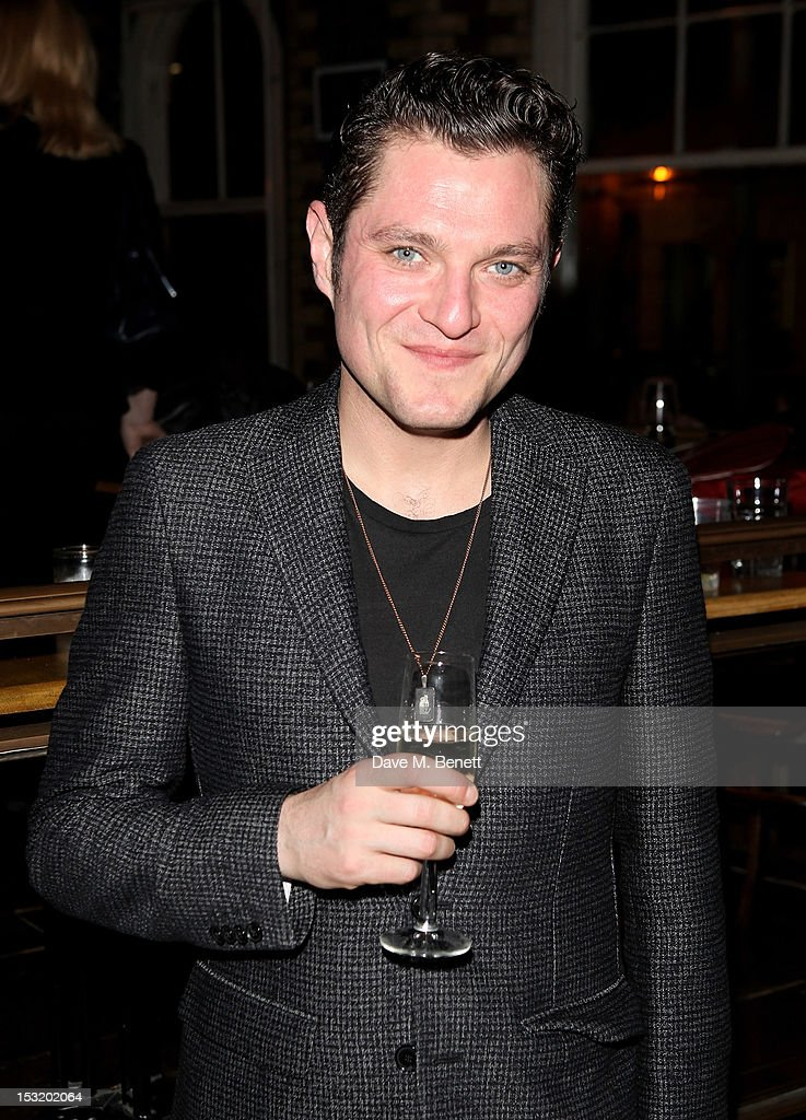 Cast member Mathew Horne attends an after party following the press night performance of 'Charley's Aunt' at Menier Chocolate Factory on October 1, 2012 in London, England.