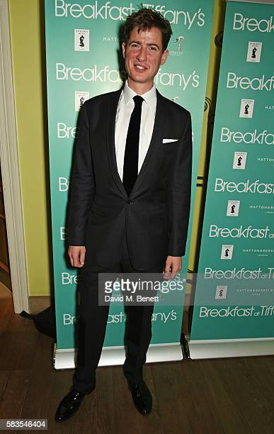 Cast member Matt Barber attends the press night after party for 'Breakfast at Tiffany's' at the The Haymarket Hotel on July 26 2016 in London England