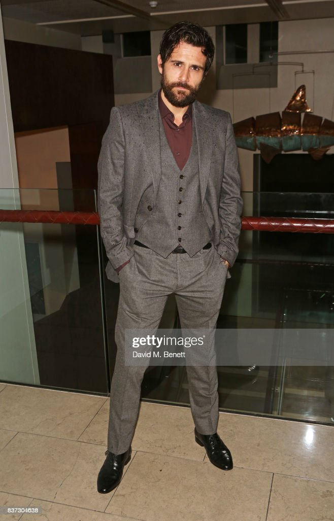 Cast member Matt Ryan attends the press night after party of 'Knives In Hens' at The Hospital Club on August 22, 2017 in London, England.