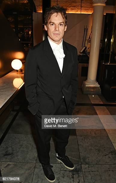Cast member Michael C Hall attends the press night after party for 'Lazarus' at the King's Cross Theatre on November 8 2016 in London England