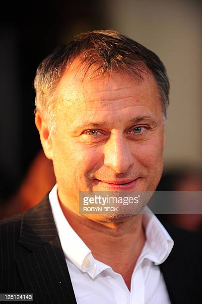 Cast member Michael Nyqvist arrives September 15 2011 for the world premiere of 'Abduction' at Grauman's Chinese Theatre in Hollywood California AFP...