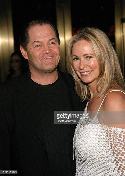AIDA cast member Micky Dolenz and wife Donna Quinter attend the After Party For The Closing Performance Of AIDA at Cipriani on 42nd Street September...