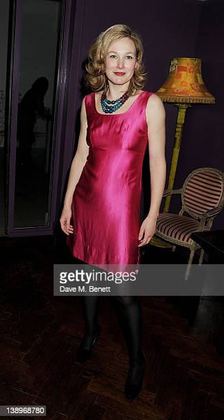 Cast member Nancy Carroll attends an after party following the press night performance of Donmar Warehouse's 'The Recruiting Officer' at The Hospital...