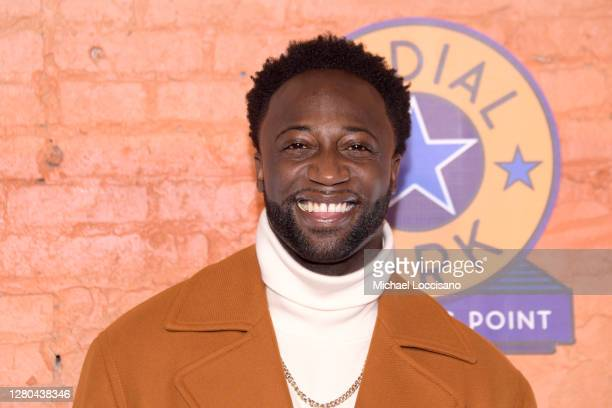 Cast member Nick Rashad Burroughs attends the opening night of the Purple Rain at Radial Park DriveIn Experience at Radial Park on October 15 2020 in...