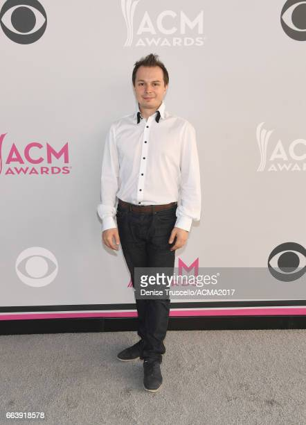 A cast member of ABSINTHE attends the 52nd Academy of Country Music Awards at Toshiba Plaza on April 2 2017 in Las Vegas Nevada