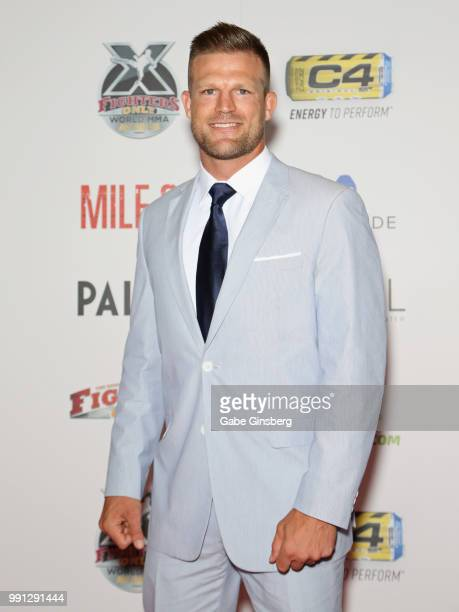 Cast member of 'Flip or Flop Vegas' mixed martial artist Bristol Marunde attends the 10th annual Fighters Only World Mixed Martial Arts Awards at...