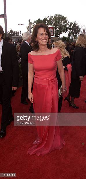Cast member of Malcolm in the Middle Jane Kaczmarek arrives at the 7th Annual Screen Actors Guild Awards held at the Shrine Auditorium Los Angeles CA...