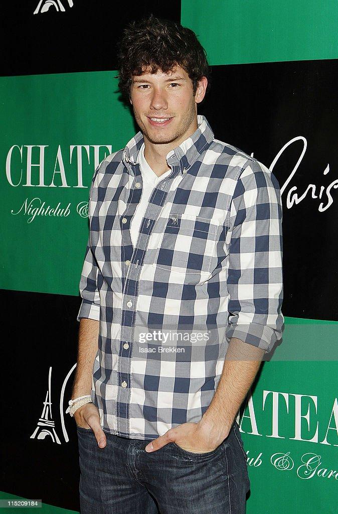Las Vegas Dustin Zeto arrives at Chateau Nightclub & Gardens on June 3, 2011 in Las Vegas, Nevada.