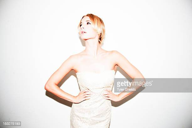 Cast member of the TV show Revenge, Emily Vancamp, is photographed for Self Assignment on August 19, 2012 in Los Angeles, California.