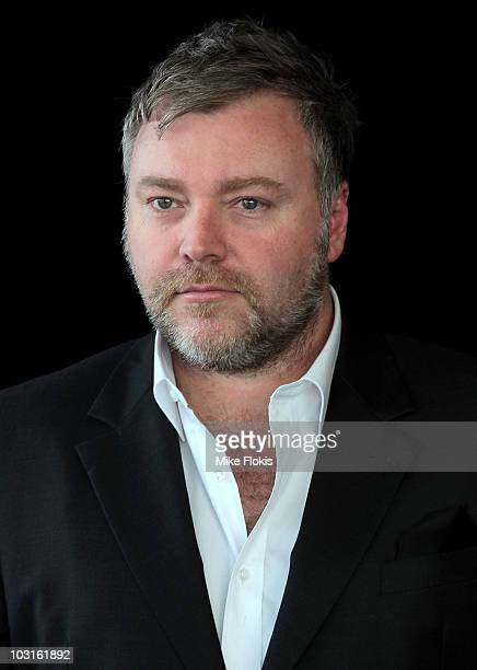 Cast member of 'The X Factor' Kyle Sandilands poses during a media call on July 30 2010 in Sydney Australia