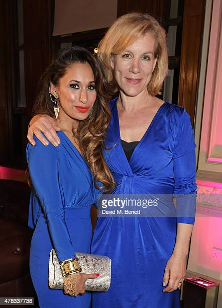 Cast member Preeya Kalidas and Juliet Stevenson attend the after party following the press night performance of 'Bend It Like Beckham The Musical' at...