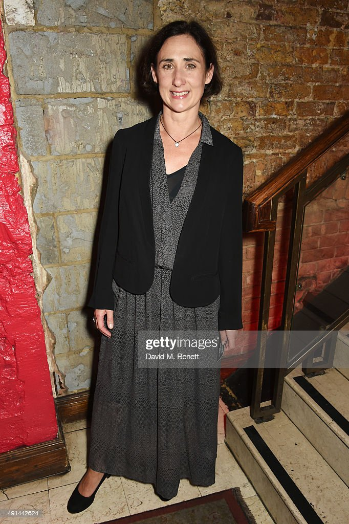 Cast member Rebecca Charles attends the press night after