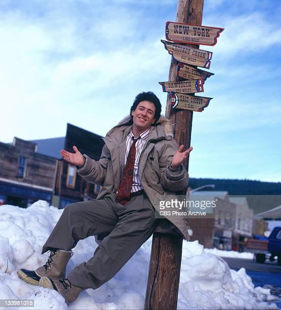 EXPOSURE cast member Rob Morrow March 1990