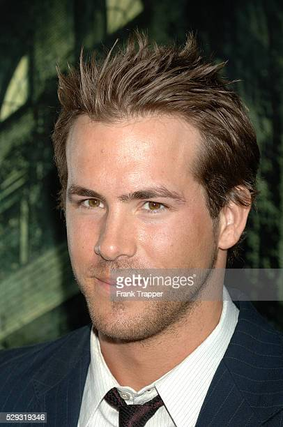 Cast member Ryan Reynolds arrives at the premiere of 'The Amityville Horror' at the Arclight Cinerama Dome