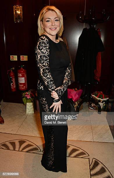 Cast member Sheridan Smith attends the press night after party for 'Funny Girl' at The Waldorf Hilton Hotel on April 20 2016 in London England