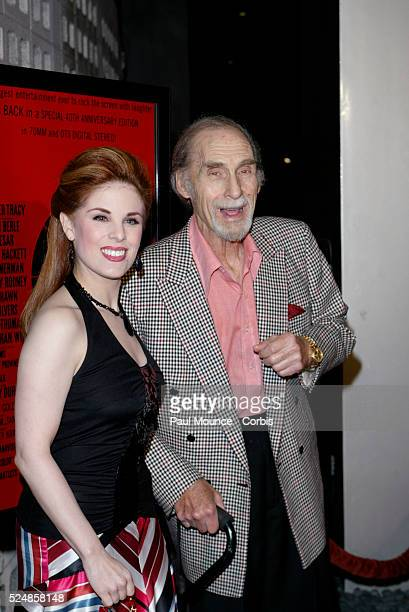 Cast member Sid Caesar and Katherine Kramer arrive at the 40th anniversary celebration for the Arclight Cinerama Dome and MGM's new 40th Anniversary...