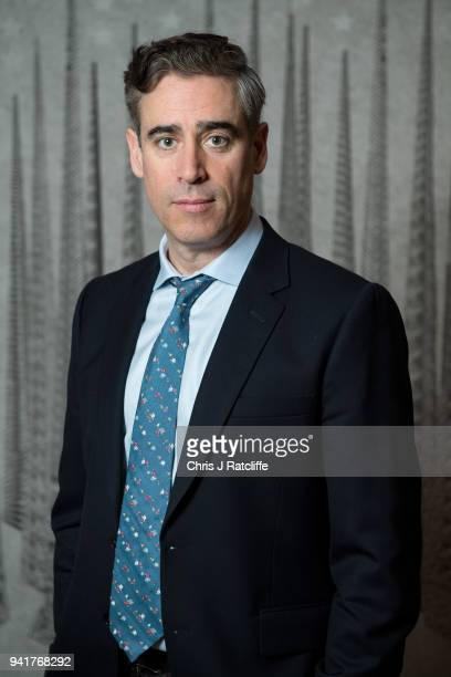 Cast member Stephen Mangan photographed during BBC One's 'The Split' photocall at Soho Hotel on April 4 2018 in London England 'The Split' is a new...