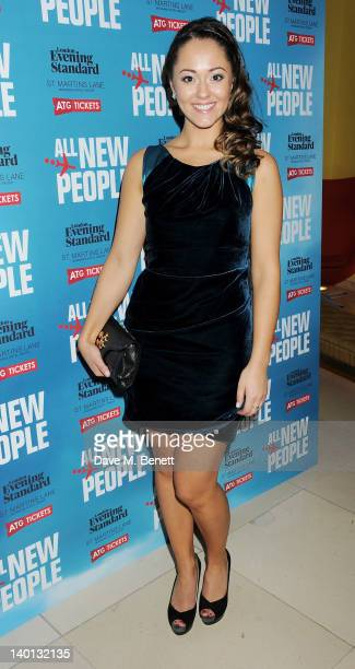 Cast member Susannah Fielding attends an after party celebrating the press night performance of 'All New People' at St Martin's Lane Hotel on...