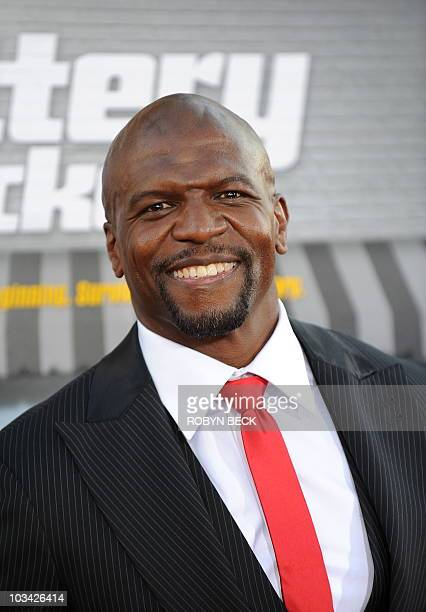 Cast member Terry Crews arrives arrives for the premiere of Warner Bros 'Lottery Ticket' at the Grauman�s Chinese Theatre in the Hollywood section of...