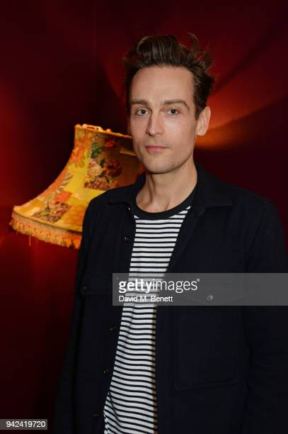 Cast member Tom Mison attends the press night after party for 'The Way of the World' at The Hospital Club on April 5 2018 in London England