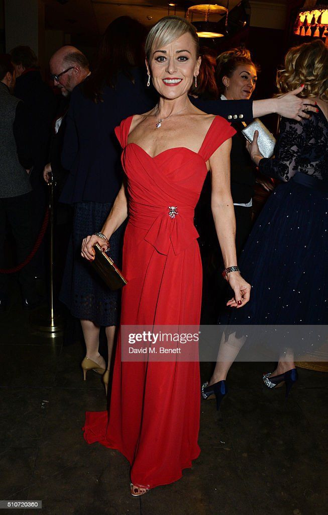 Cast member Tracie Bennett attends the press night after party for 'Mrs Henderson Presents' at The National Cafe on February 16, 2016 in London, England.