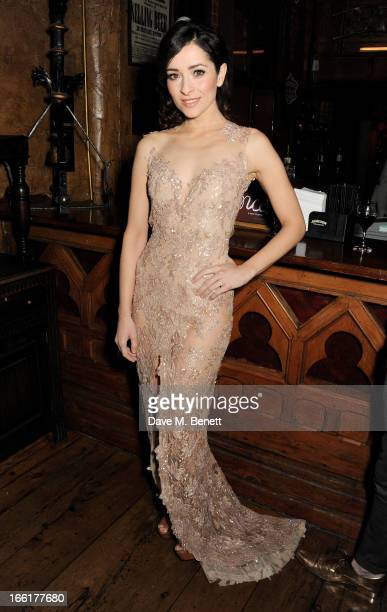 Cast member Zrinka Cvitesic attends an after party following the press night performance of 'Once' at Waxy O'Connors on April 9 2013 in London England