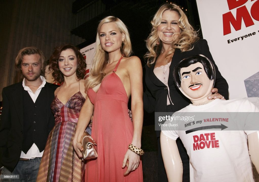 Cast Members Adam Campbell Alyson Hannigan Sophie Monk And