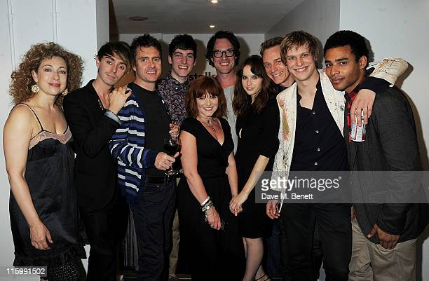 Cast members Alex Kingston David Dawson Paul Higgins Alexander Pritchett Finty Williams John Light Felicity Jones Ben Daniels Max Bennett and Lloyd...