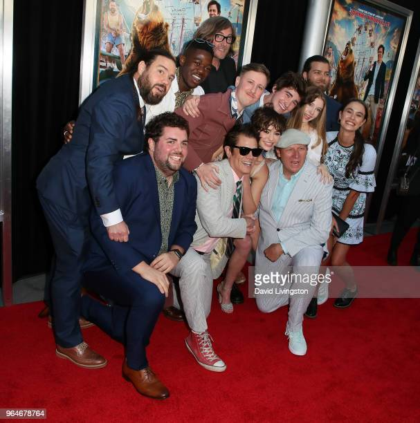 Cast members and director attend the premiere of Paramount Pictures' 'Action Point' at ArcLight Hollywood on May 31 2018 in Hollywood California