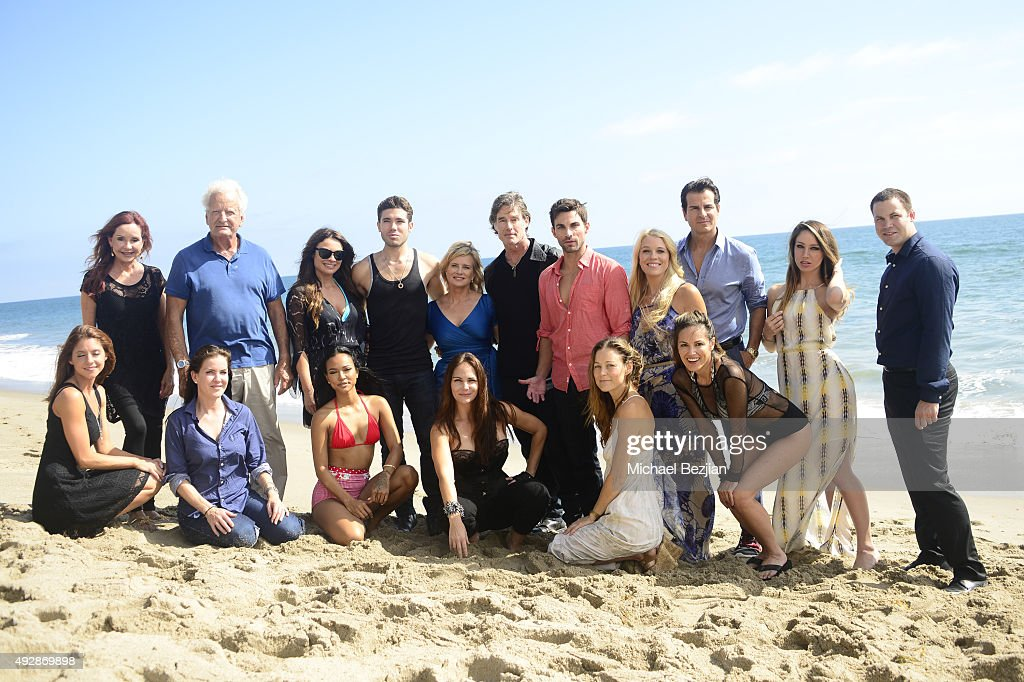 Cast members at 'The Bay The Series' New Intro Promotional Shoot on October 15, 2015 in Los Angeles, California.