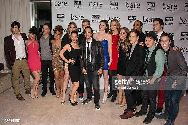 Cast members attend BARE The Musical Opening Night After Party at Out Hotel on December 9 2012 in New York City