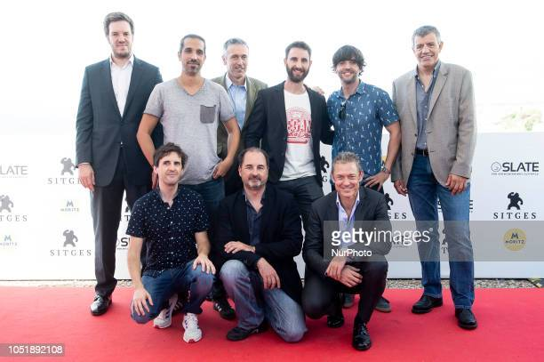 Cast members attends to photocall of the presentation of Superlopez during Sitges 51 Festival de Cinema Fantastic de Catalunya in Sitges Barcelona...
