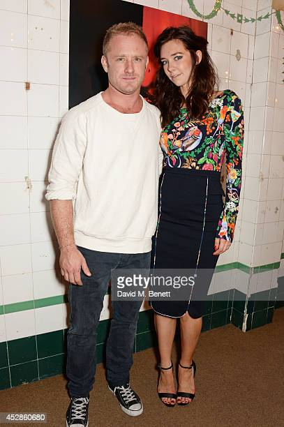 Cast members Ben Foster and Vanessa Kirby attend an after party following the press night performance of 'A Streetcar Named Desire' at The Young Vic...
