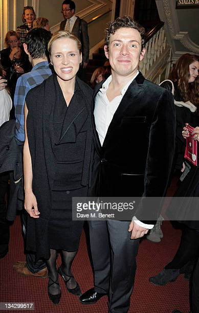 Cast members Beth Cordingly and Michael Thomson attend an after party following the Press Night performance of 'The RoundHeeled Woman' at The Aldwych...