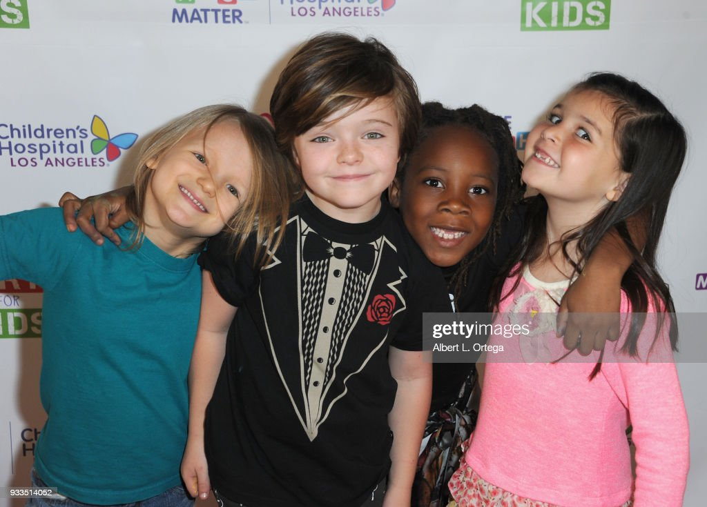 """Art For Kids And The Cast Of USA Networks' """"The Secret Lives Of Kids"""" Create Art To Benefit Children's Hospital Of Los Angeles"""