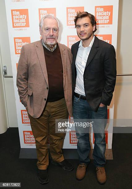 Cast members Brian Cox and Emile Hirsch attend the New York Premiere of The Autopsy Of Jane Doe at The Film Society of Lincoln Center on December 6...