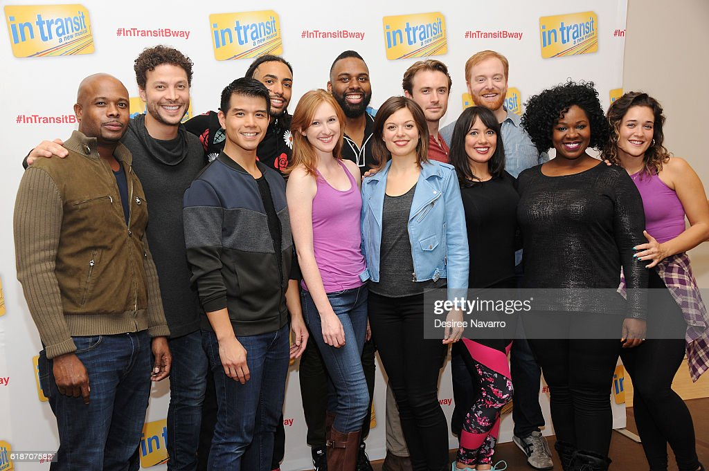 "Broadway's ""In Transit"" Cast Photocall"