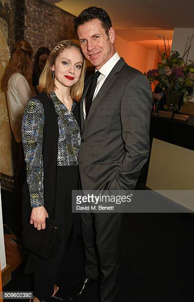 Cast members Christina Cole and Lloyd Owen attend an after party celebrating the World Premiere of 'The End Of Longing' written by and starring...