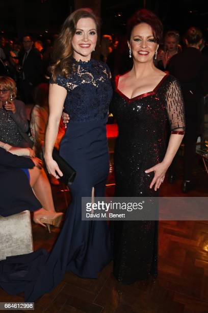 Cast members Clare Halse and Sheena Easton attend the opening night after party for '42nd Street' in aid of the East Anglia Children's Hospice at One...