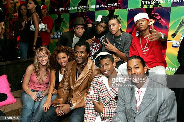 Cast members during FoxSearchlight Pictures Present the Los Angeles Premiere of Roll Bounce After Party at The Bridge at Howard Hughes Center in Los...