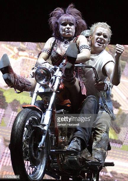 Cast Members during We Will Rock You Charity Performance to Celebrate Freddie Murcury's 60th Birthday at The Dominion Theatre in London, Great...