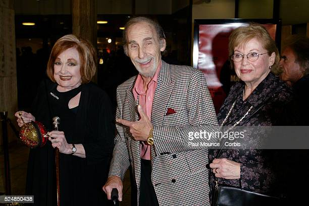 Cast members Edie Adams and Sid Caesar and his wife arrive at the 40th anniversary celebration for the Arclight Cinerama Dome and MGM's new 40th...