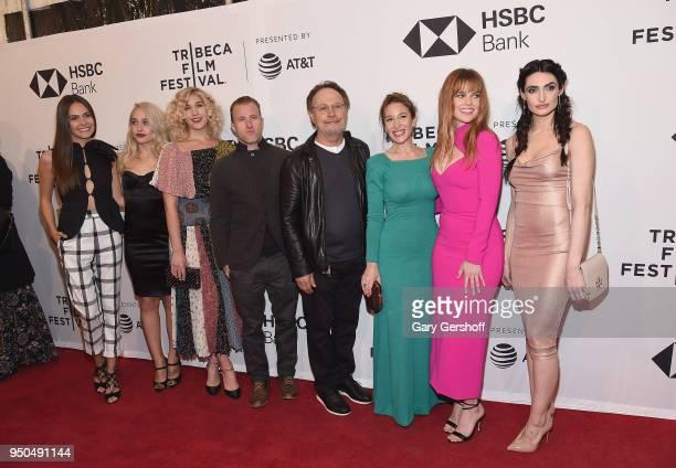 Cast members Elena Ghenoui Jemima Kirke Lola Kirke Scott Caan Billy Crystal writer/director Emma Forrest actors Alice Eve and Chloe Catherine Kim...
