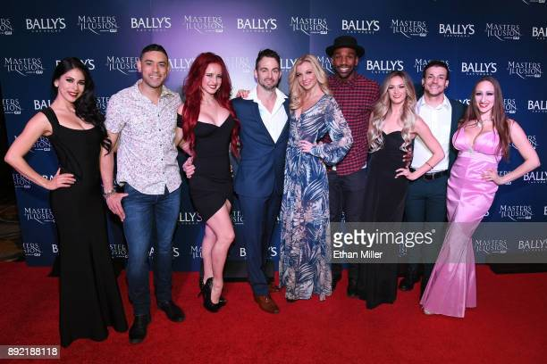 Cast members Erica Vanlee Curtis Goodman Olivia Frantz Aaron Lacey Stacey Smithson William Credell Alison Koraly Jesse Sykes and Melanie Kramer...
