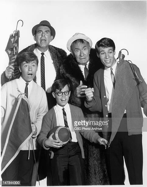 Fred MacMurray William Demarest Don Grady Barry Livingston and Stanley Livingston as Chip 1965
