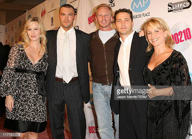 Cast Members from Beverly Hills 90210 and Melrose Place reunite on the pink carpet to kick off their muchanticipated DVD launch at the renowned...