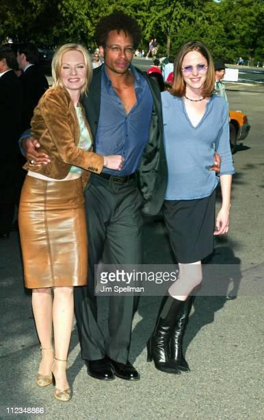 Cast members from 'CSI' Marg Helgenberger Gary Dourdan Jorja Fox